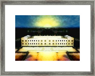 The Last Bastion Framed Print by Wendy J St Christopher