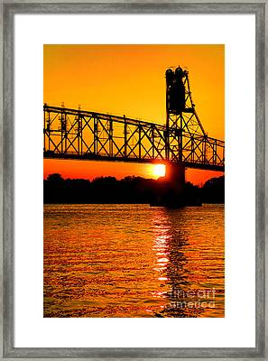 The Last Crossing Framed Print by Olivier Le Queinec