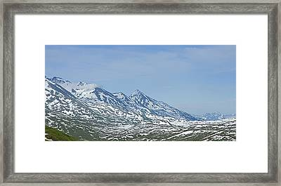 The Last Frontier Framed Print by Nick  Boren