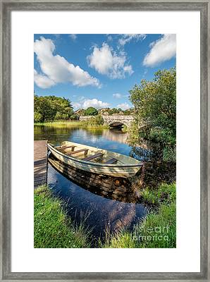 The Last Port Framed Print by Adrian Evans