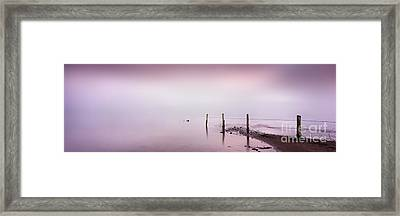 The Last Posts Framed Print by Rod McLean