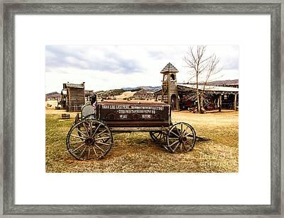 The Last Ride Framed Print by Jon Burch Photography