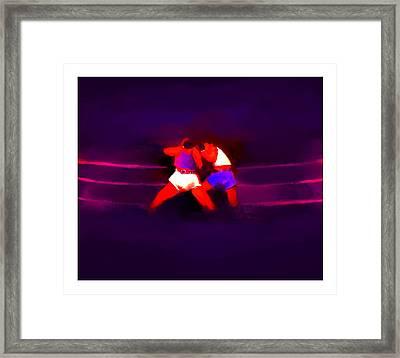 The Last Round  2 B Framed Print by Diane Strain