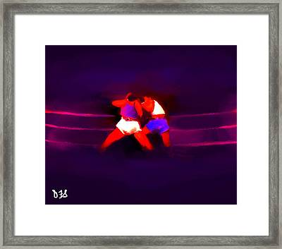 The Last Round  #2 Framed Print by Diane Strain