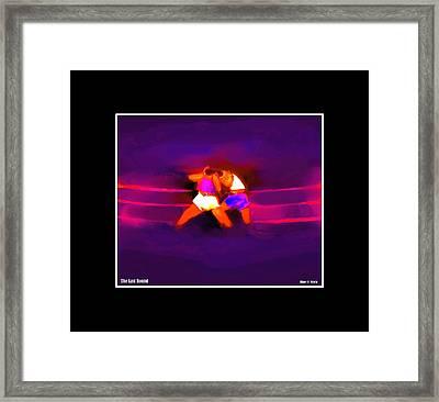The Last Round  3 C Framed Print by Diane Strain