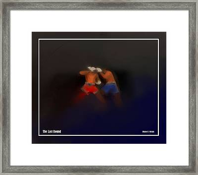 The Last Round  #8 Framed Print by Diane Strain