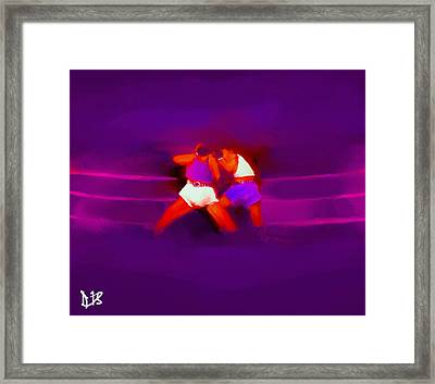 The Last Round  #1 Framed Print by Diane Strain