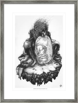 The Last Seraphim Framed Print by Natanel Araeha