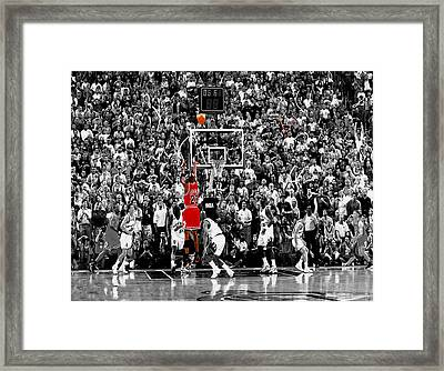 The Last Shot 1 Framed Print by Brian Reaves