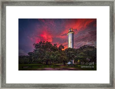 The Last Shot Framed Print by Marvin Spates