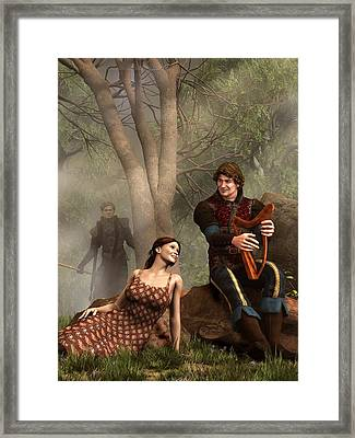 The Last Song Of Tristan Framed Print by Daniel Eskridge