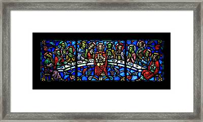 The Last Supper Framed Print by Stephen Stookey