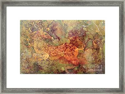 The Last Unicorn Framed Print by Delona Seserman