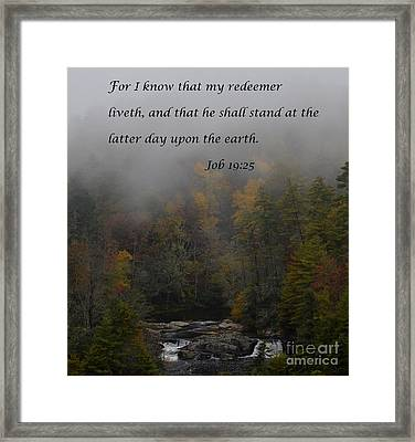The Latter Day Framed Print by Debra Johnson