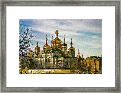 The Lavra Painted Framed Print by Matt Create
