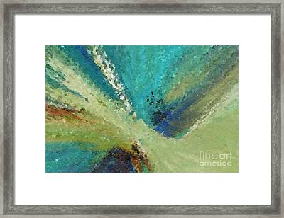The Law Of Opposition. Revelation 2 7 Framed Print by Mark Lawrence