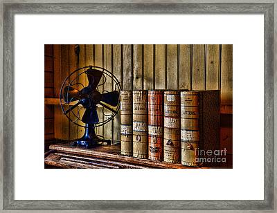 The Lawyers Desk Framed Print by Paul Ward