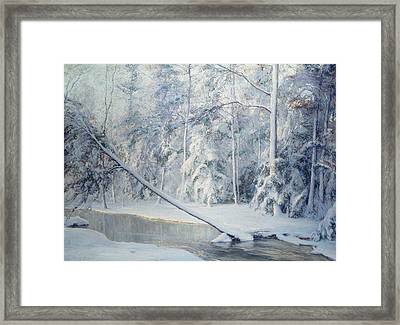 The Leaning Tree Framed Print by Walter Launt Palmer