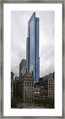 The Legacy At Millenium Park Framed Print by Peter Chilelli