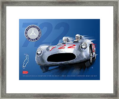 The Legend Of 722 Framed Print by Ron Riffle