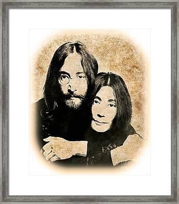 The Lennons Framed Print by Gary Keesler