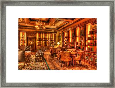 The Library Framed Print by Heidi Smith