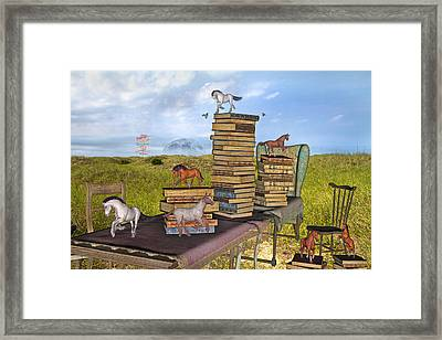 The Library Your Local Treasure Framed Print by Betsy C Knapp
