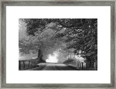 The Light Ahead Framed Print by Andrew Soundarajan