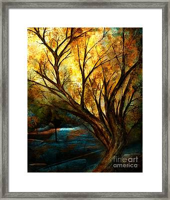 The Light Has Come Framed Print by Shevon Johnson