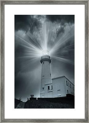 The Light House Framed Print by Svetlana Sewell