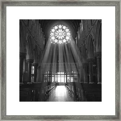 The Light - Ireland Framed Print by Mike McGlothlen