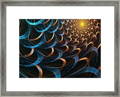 The Light Framed Print by Lourry Legarde