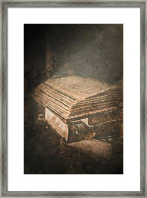 The Light Of Knowledge Framed Print by Loriental Photography