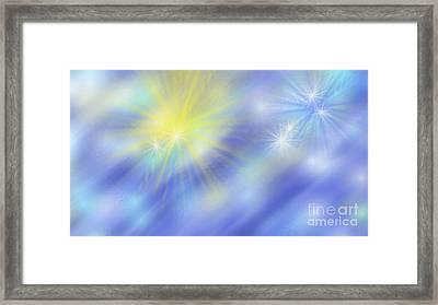 The Light Season Framed Print by Rosana Ortiz
