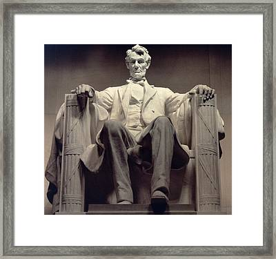 The Lincoln Memorial Framed Print by Daniel Chester French