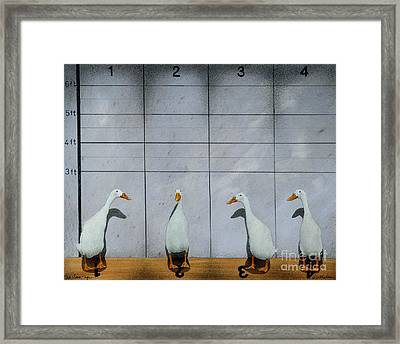 The Line Up... Framed Print by Will Bullas