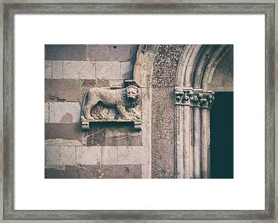 The Lion's Den.. Framed Print by A Rey