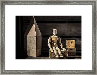 The Listener Framed Print by Andrew Pacheco