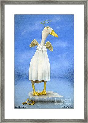 The Little Angel... Framed Print by Will Bullas