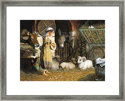The Little Drummer Boy Framed Print by Lynn Bywaters