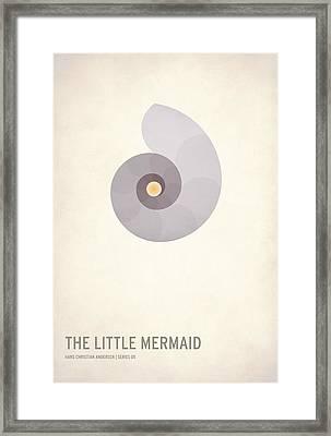 The Little Mermaid Framed Print by Christian Jackson