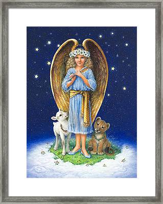 The Littlest Angel Framed Print by Lynn Bywaters