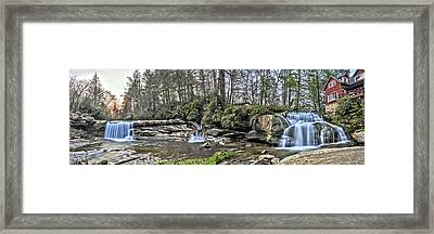 The Living Waters Framed Print by Donnie Smith