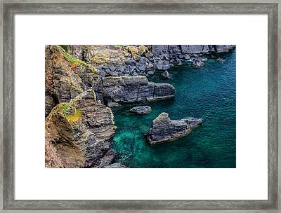 The Lizard Cornwall Framed Print by Martin Newman