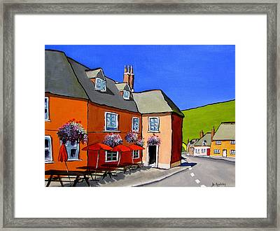The Local Framed Print by Jo Appleby