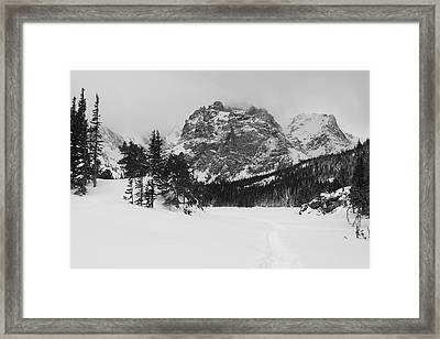 The Loch Framed Print by Eric Glaser