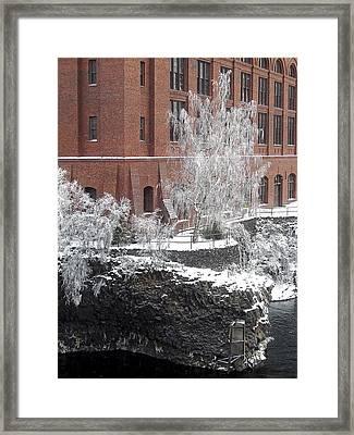 The Lone Sentinel - Spokane Washington Framed Print by Daniel Hagerman