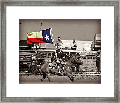The Lone Star State Framed Print by Lindsay Milloy