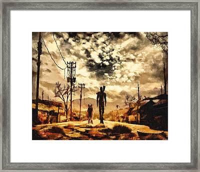 The Lone Wanderer Framed Print by Joe Misrasi