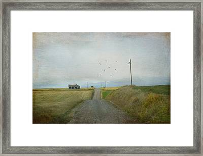 The Long Road Home Framed Print by Juli Scalzi